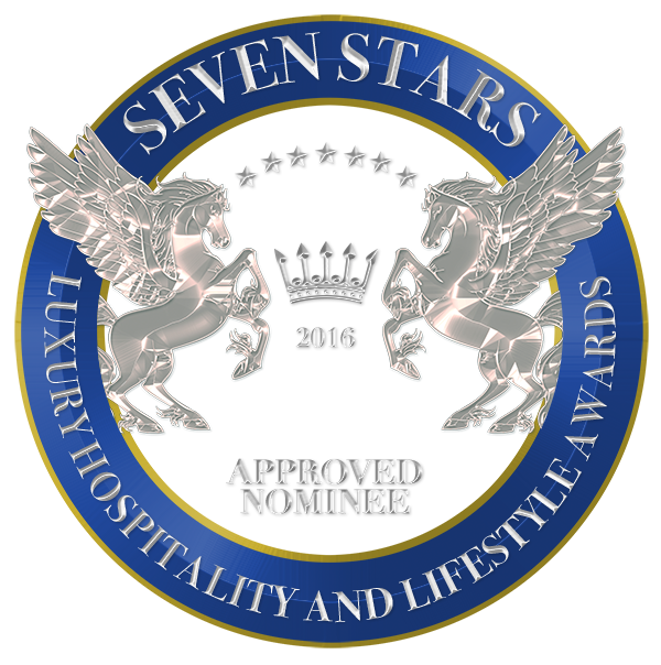 Seven Stars Luxury Hospitality and Lifestyle Award Nomination Shield